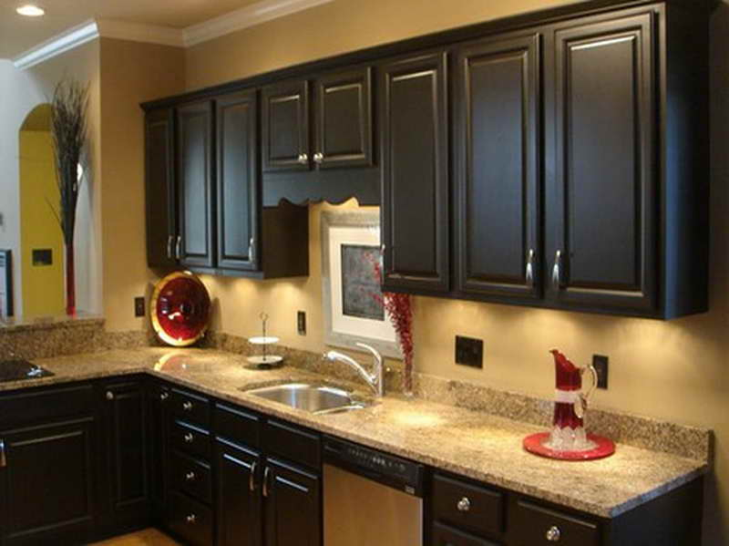 Kitchen Cabinet Paint Colors With Sink